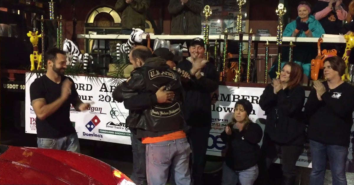 These guys just surprised a struggling vet with a new car