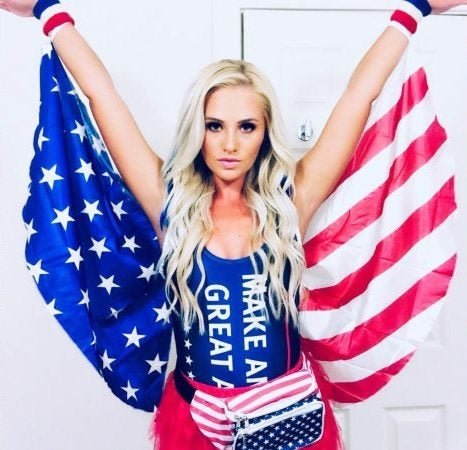 9 times the American flag costume was taken to another level