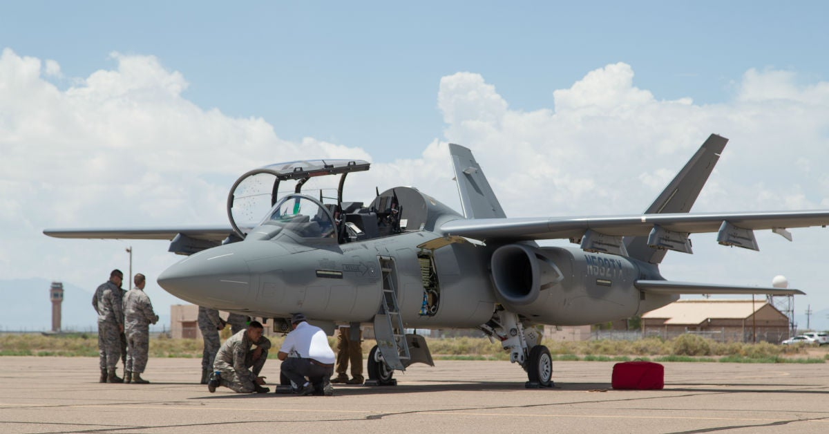 This is the light attack aircraft the Saudis might buy