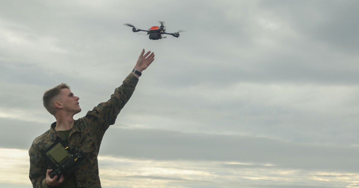 A new quad-copter that swims and flies could one day help special ops
