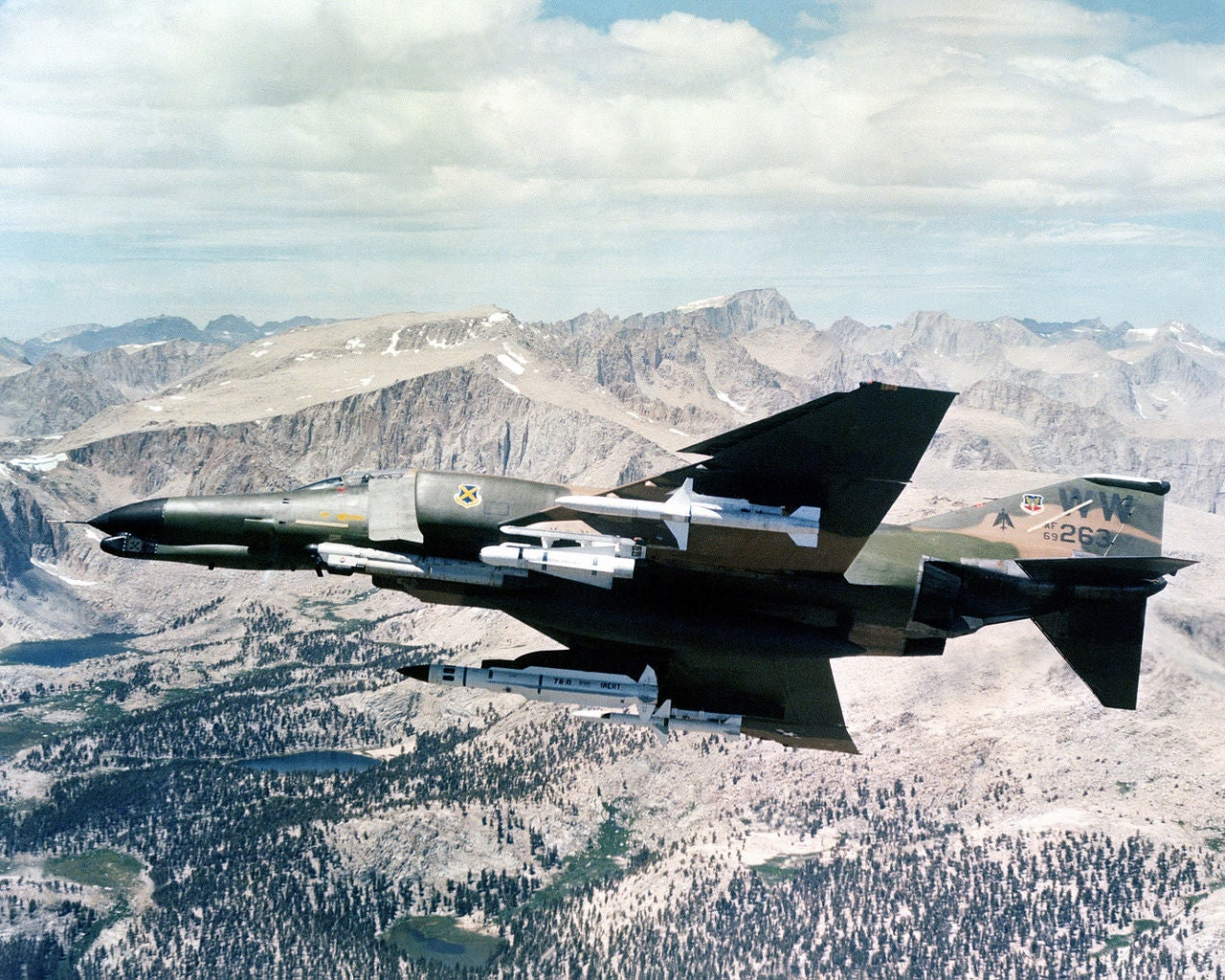The F-4 Phantom was inspired by this fighter