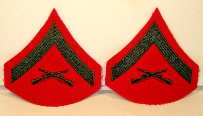 The origin of the 'best' rank in the Marines (Lance Corporal)