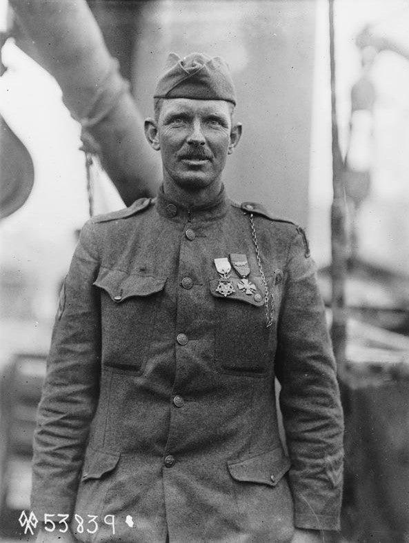 In World War I, Alvin York captured 132 German soldiers pretty much single-handed