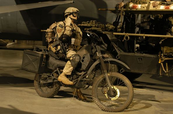 Here's the tactical motorcycle of choice for special operators