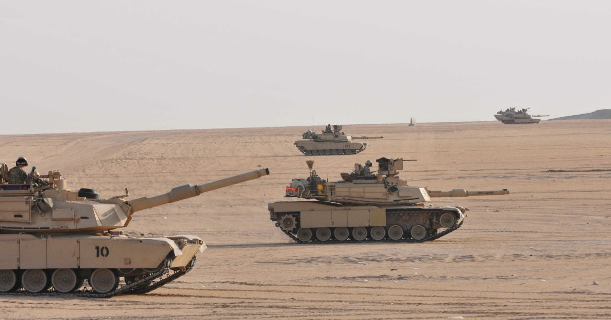 How Iran-backed militias are running around in M-1 Abrams tanks