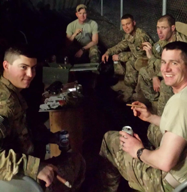 Cigars for Warriors brings moments of luxury to deployed troops