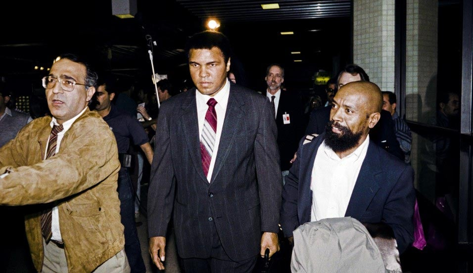 That time Muhammed Ali rescued hostages from Saddam Hussein