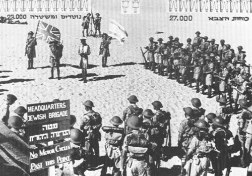 This is the all-Jewish force who took it to the Nazis in North Africa