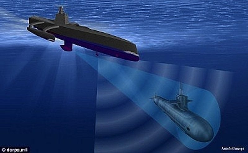 The Navy is testing a drone to hunt the world's quietest subs