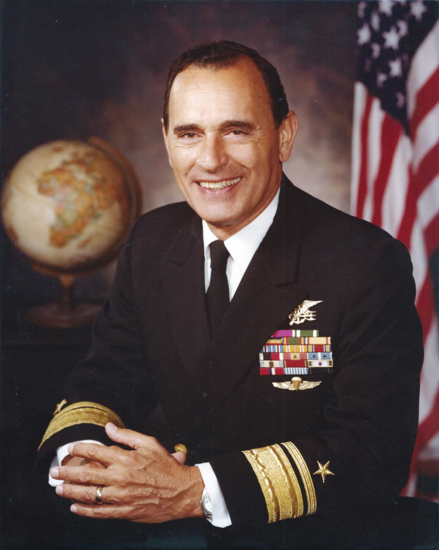 First SEAL to reach the rank of admiral dies at 93