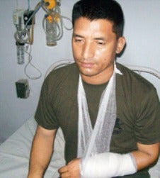 This elite Nepalese warrior fought 40 train robbers all by himself