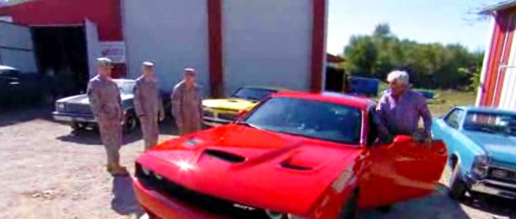 Watch Jay Leno Give A Wounded Soldier A Brand New Car