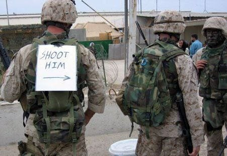 9 examples of the military's dark humor