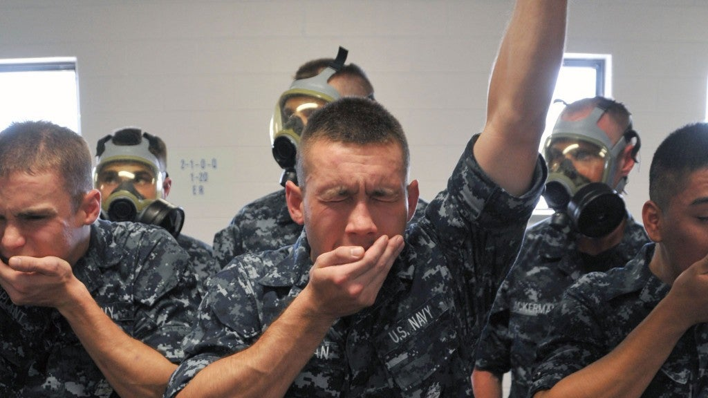 navy recruits