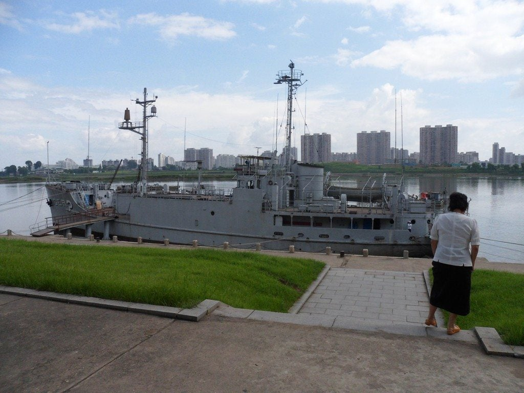 I went to North Korea and saw the US Navy ship still being held captive after 50 years