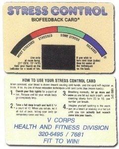 "The truth behind basic training ""Stress Cards"""