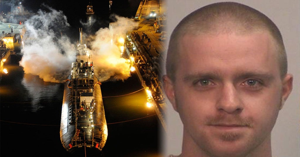 A nuclear submarine was destroyed by a guy trying to get out of work early
