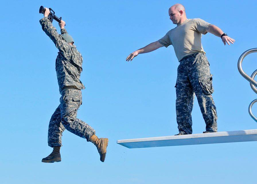 This is why Navy medics get combat first aid training in US cities