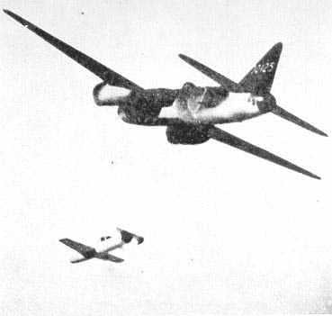 These Japanese bombers attacked targets with rocket-propelled people