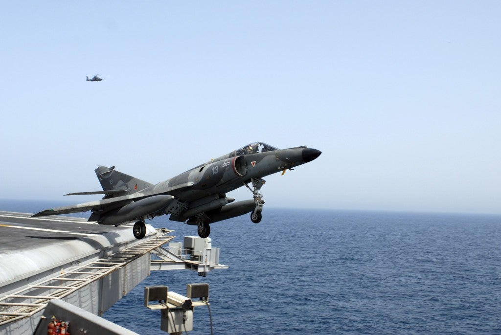This is the French aircraft carrier headed to Syria for payback