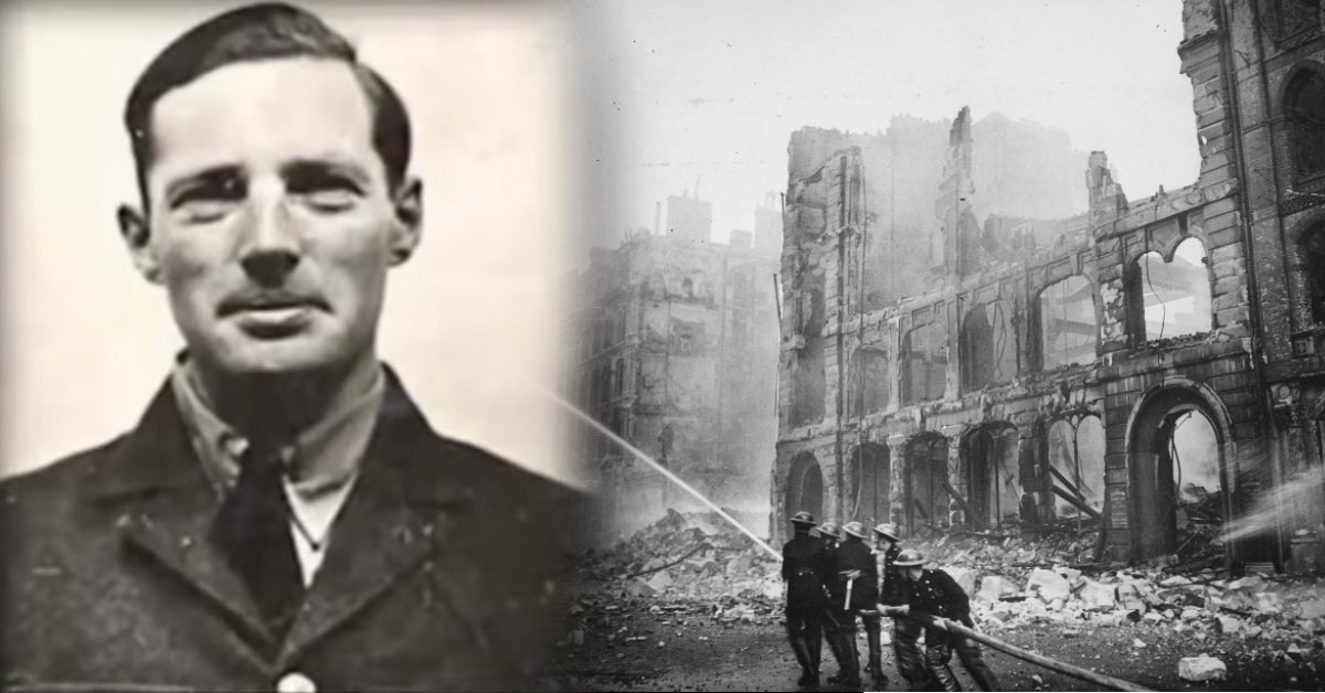 The British soldier who used German air raids to become a serial killer