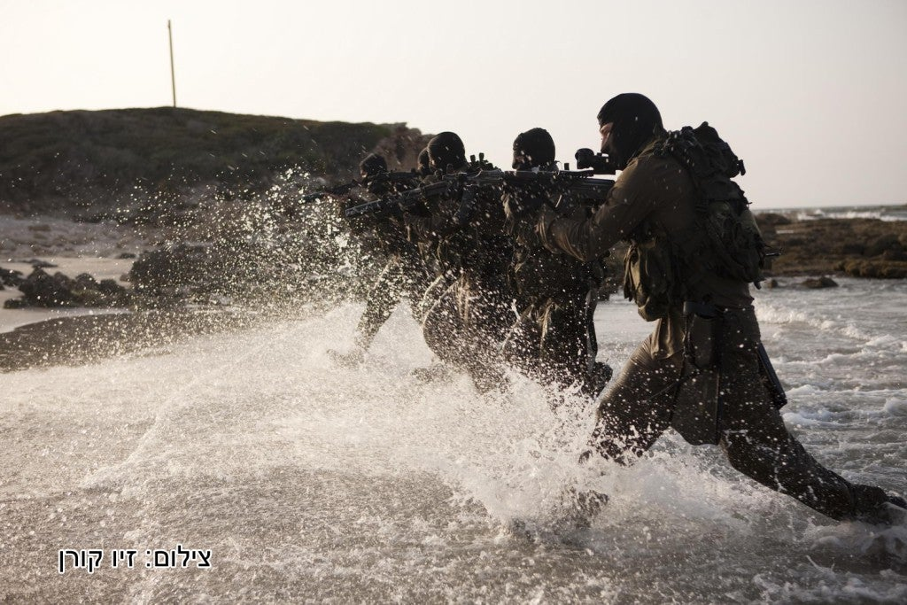 This Israeli special forces unit is their version of Navy SEALs