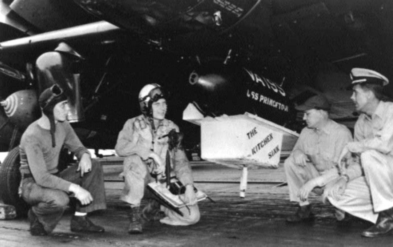 That time this Navy squadron bombed North Vietnam with a toilet