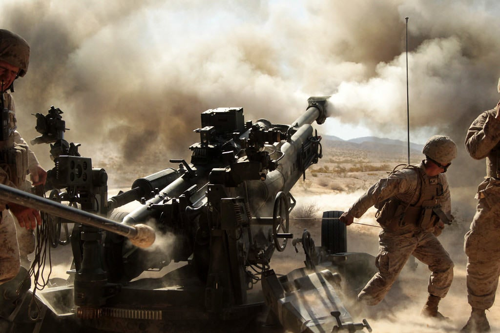 These 17 photos show why artillery is king of the battlefield
