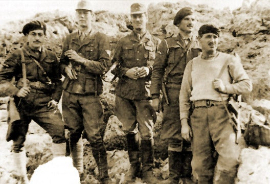 This POW led over 3,000 guerrillas after escaping the Bataan Death March