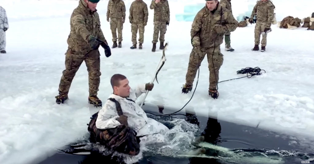 Watch the Brits teach these U.S. Marines how to 'fight in the freezer'