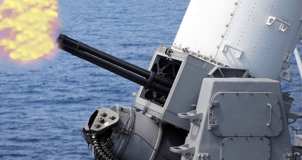 Navy ship defense weapon upgraded to destroy small boats