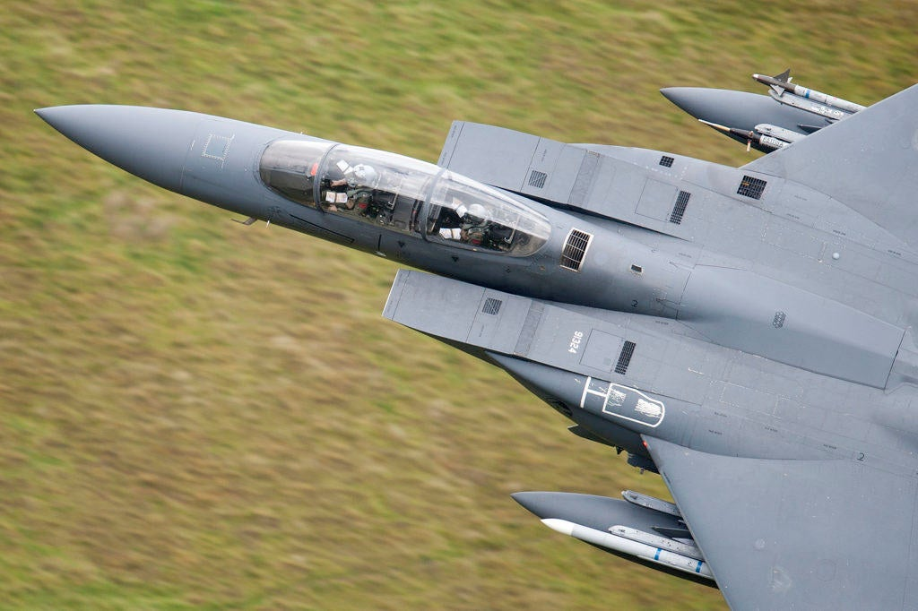 The RAF's 'Mach Loop' turns intense fighter training into a spectator sport