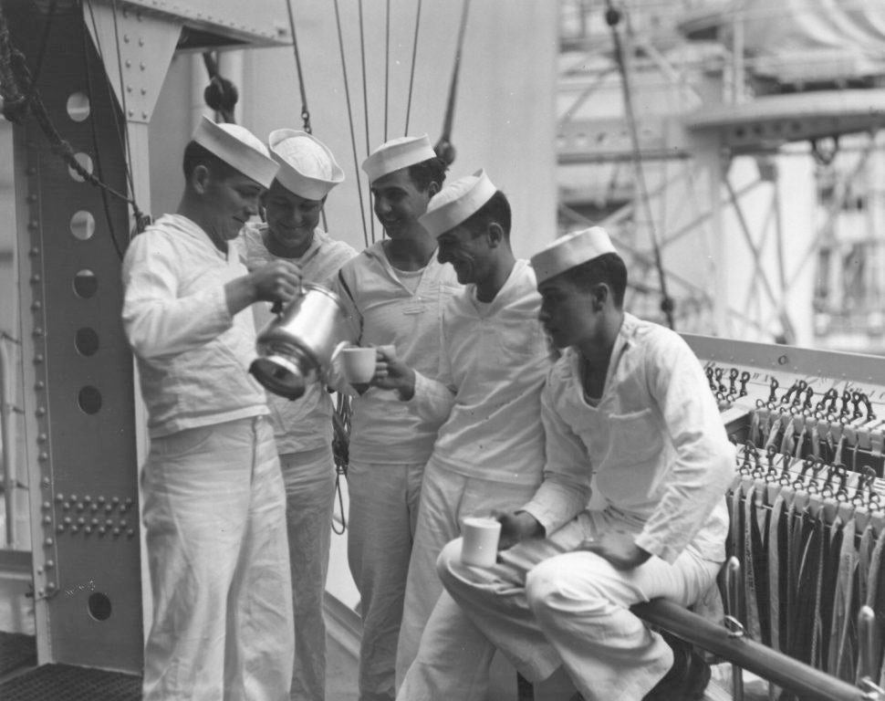 This is what happened when the Navy banned alcohol on its ships