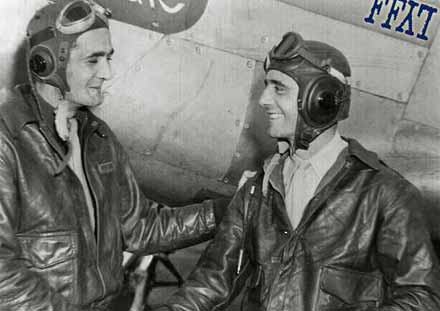This WWII fighter pilot 'piggy-backed' his wingman home after he was shot down