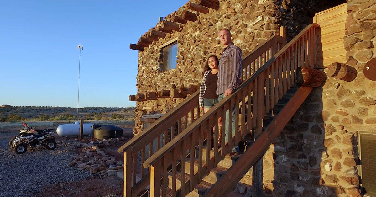 This Army veteran built his own castle in Northern Arizona