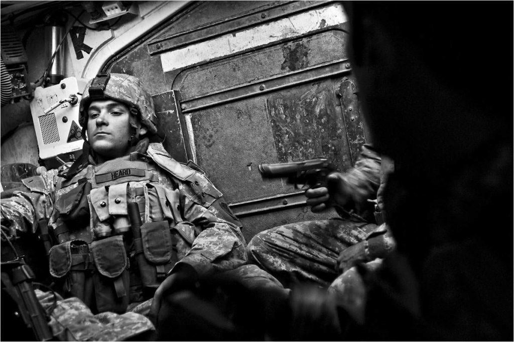 This Combat Camera vet used his skills to launch a civilian career as a photojournalist