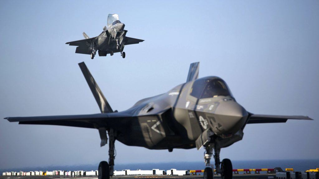 Marine Corps F-35s will go head-to-head with F-18s, F-22s, F-16s, and more at Red Flag