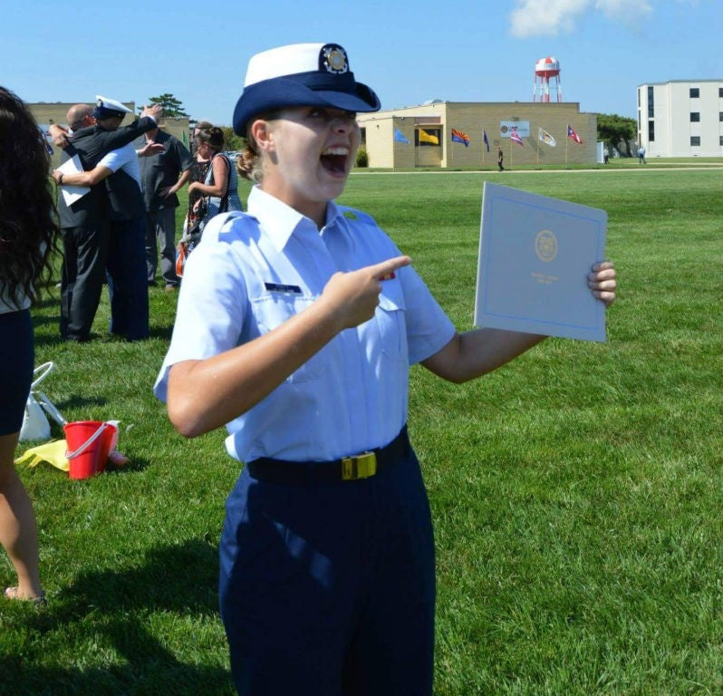 13 thoughts I had during Coast Guard boot camp graduation