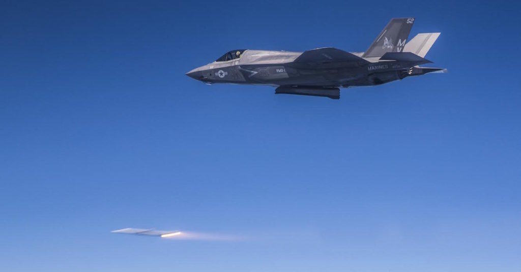 The Marine Corps' F-35 just proved it's ready to take enemy airspace