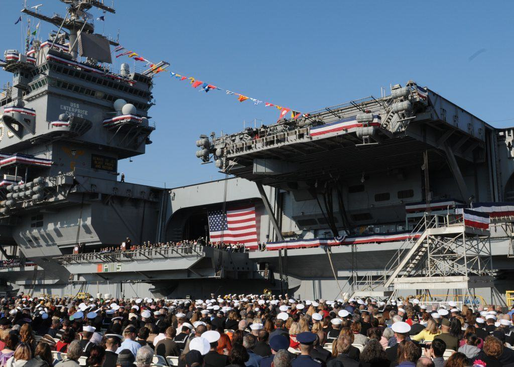 These are the Voyages of the US Navy's Enterprise