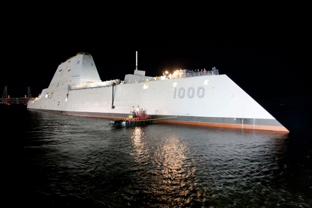 Add Zumwalt Class to list of new Navy ships having engineering problems