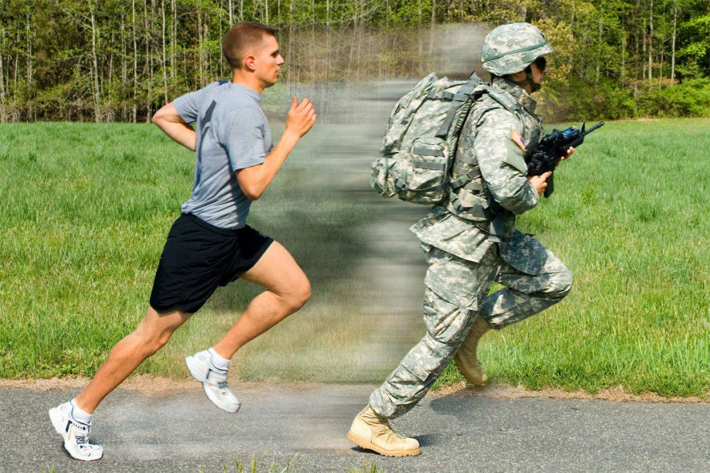 Here are 5 healthy habits to work into your busy military lifestyle