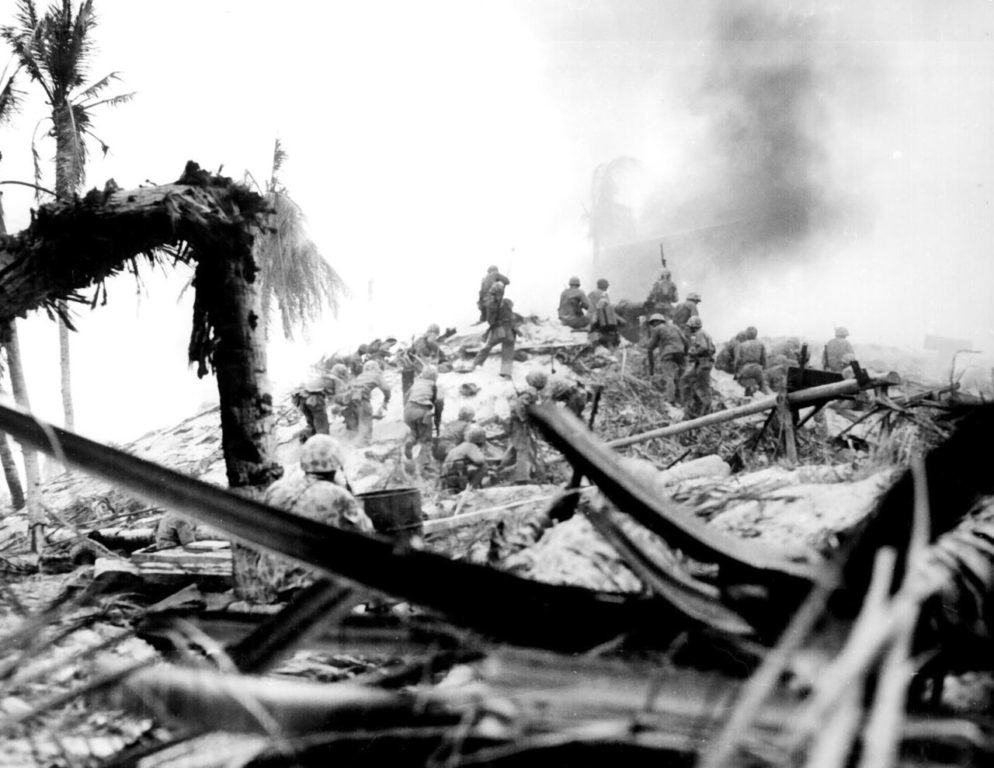 How this brave Marine saved the day at Tarawa Atoll