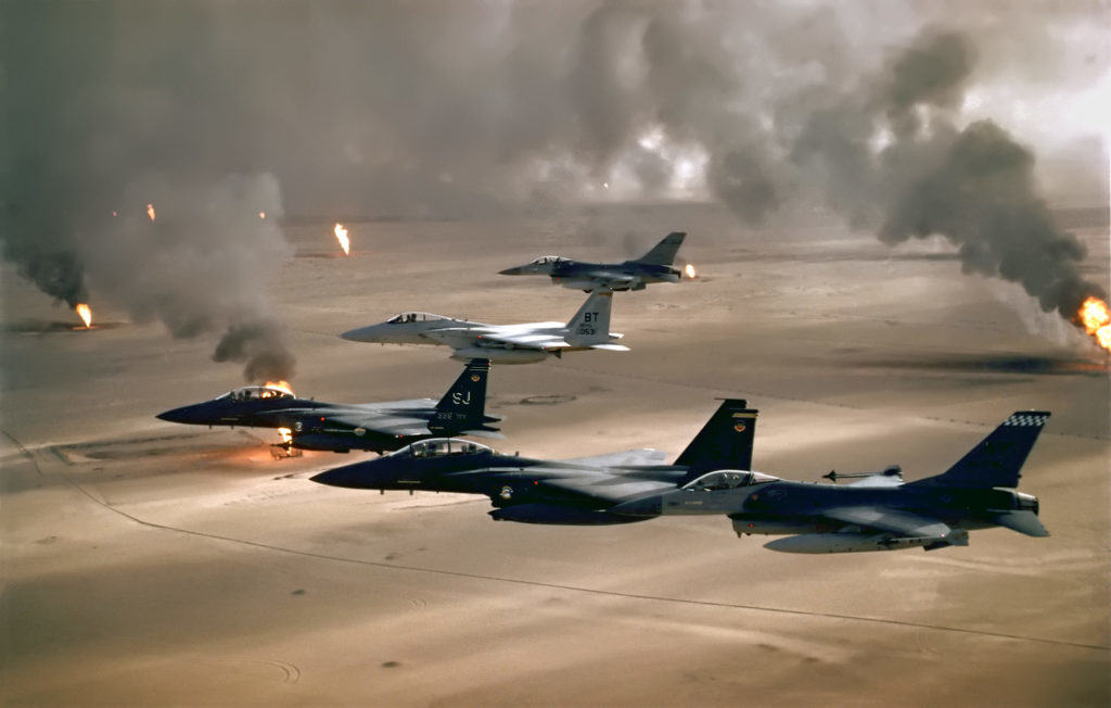 How Desert Storm changed modern aerial warfare