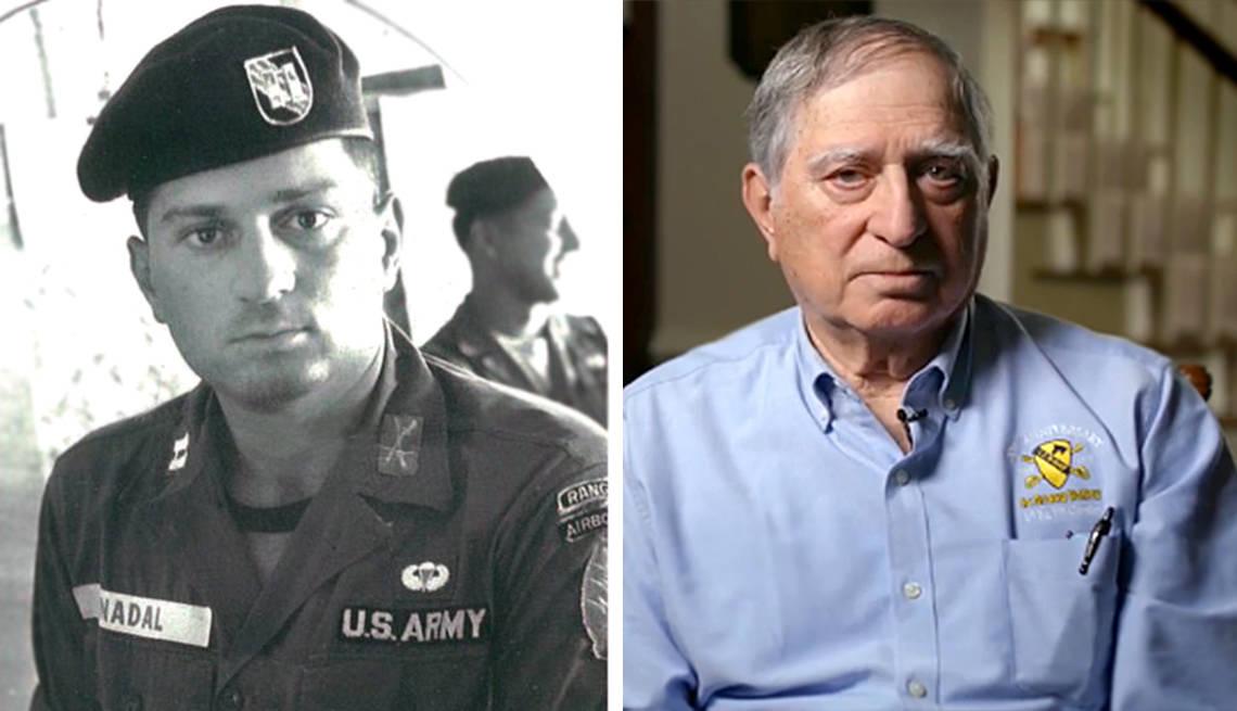 Watch this Vietnam Veteran describe what it was like to dodge machine gun fire to save his buddies