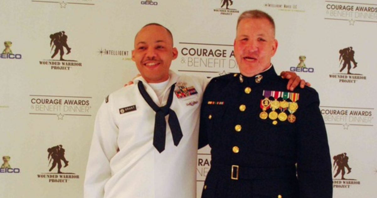 This Corpsman saved a Marine suffering from a sniper head shot