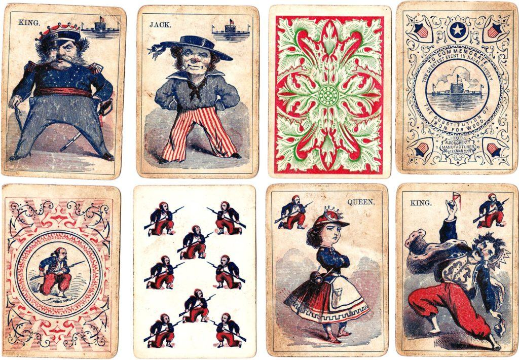 This is how POWs got playing cards with secret escape maps for Christmas