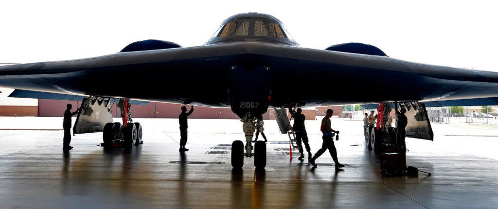 The Air Force wants to fly the B-2 Bomber into the 2050s
