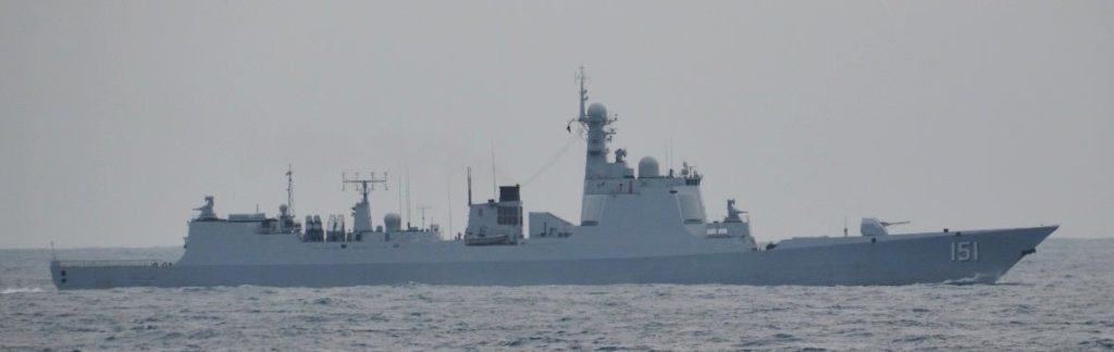 Japan snaps surveillance pics of Chinese navy carrier battle group
