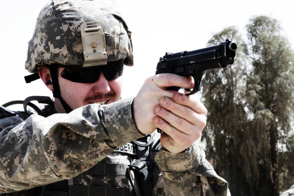 Army picks Sig Sauer to replace M9 service pistol